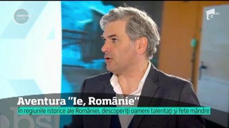 """După 10 ani, Mircea Radu repornește caravana, de această dată, """"Ie, Românie"""". Prezentatorul a fost primit cu umor de oameni: """"După atâția ani, sunteți încă viu!"""""""