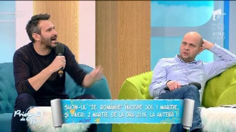 """Show-ul """"Ie, Românie"""" începe, joi, la Antena 1! Prima ediţie va avea loc în Maramureş, """"acasă"""" la Nicolai Tand"""