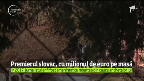 Un milion de euro. Este recompensa oferită de premierul Slovaciei pentru informaţii în cazul asasinării unui tânăr jurnalist