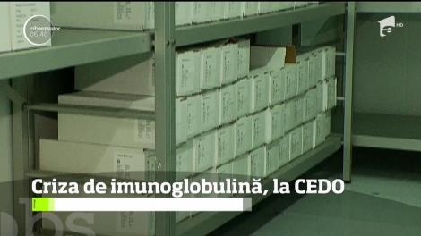 Pacienţii care au nevoie disperată de imuno-globulină vor să meargă la CEDO pentru a-şi rezolva problema