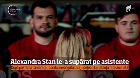 Anchetă la Spitalul Judeţean Constanţa, după ce Alexandra Stan s-a arătat şocată de condiţiile oferite pacienţilor