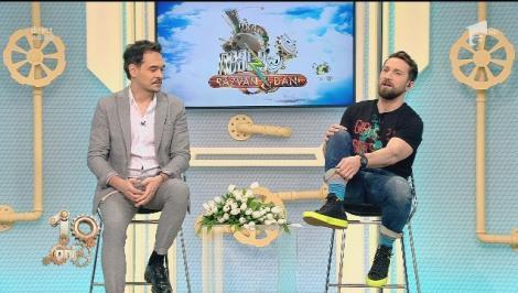 """De 8 Martie, Dani și-a luat ciorapii lui norocoși: """"Dacă se văd trebuie să pui accentul pe ei, dacă nu se văd pot fi negri. Să vezi chiloții!"""""""
