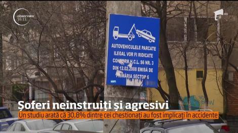Şoferii din România sunt slab educaţi şi prost pregătiţi de instructorii auto