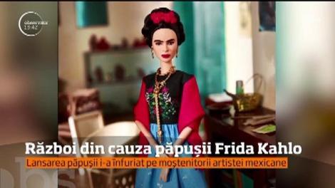 Moştenitorii celebrei artiste Frida Khalo sunt în război cu compania care produce celebrele păpuși Barbie