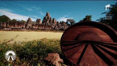 """Aventura """"Asia Express"""" continuă în Cambodgia! Vedetele dau buzna în școală și învață limba...khmeră! Scrisul este o mare problemă!"""