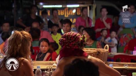 """Exorcizarea Cruduței! Vedetele au cărat tarantule vii și apoi le-au mâncat, totul pentru o miză uriașă la """"Asia Express""""!"""