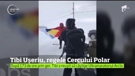 Performanţă unică pentru Tibi Uşeriu. Românul a câştigat pentru a treia oară consecutiv ultramaratonul de la Cercul Polar