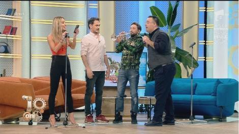Premieră live! Flavia Mihășan și Dani cântă împreună. Ea cu vocea, el cu trompeta