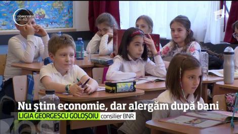 Robor, dobândă, inflaţie. Tainele economiei sunt greu descifrate de români