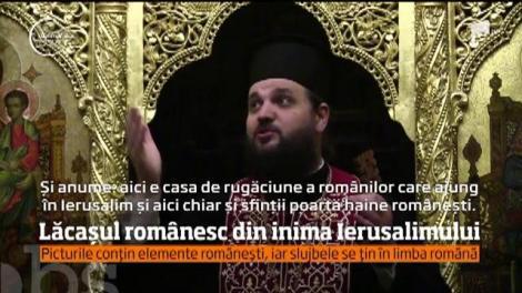 """Biserica Ortodoxă din Israel în care se cântă tot anul """"Hristos a Înviat"""" în limba română"""