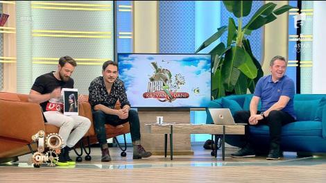 """Stan și Bran erau mici copii! Răzvan și Dani au devenit personaje de film și au făcut senzație la """"Neatza""""!"""
