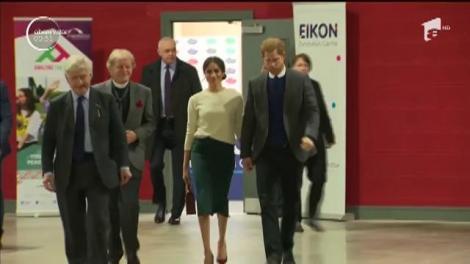 Prințul Harry și Meghan Markle, în vizită la Belfast, Irlanda de Nord