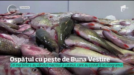 Ospățul cu pește de Buna Vestire. Este prima dezlegare din postul Paștelui