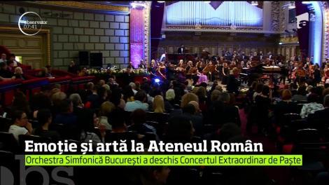 Seară magică la Ateneul Român. Concertul Extraordinar de Paşte a însemnat emoţii atât pentru artişti, cât şi pentru spectatori