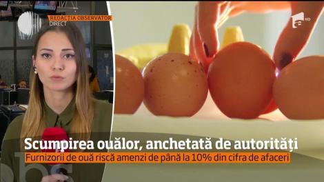 Scumpirea ouălor, anchetată de autorități