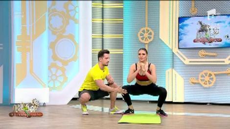 Fitness la Neatza! Antrenament pentru creșterea tonusului muscular