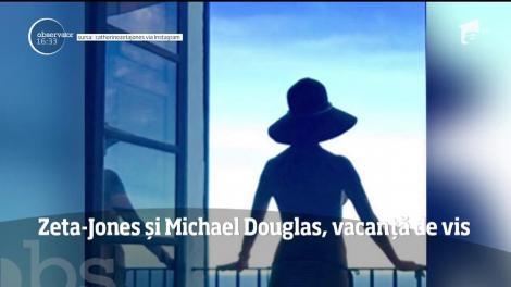 Catherine Zeta-Jones şi Michael Douglas, vacanță de vis