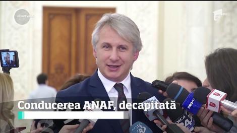 Conducerea ANAF a fost decapitată. Eugen Teodorovici a demis 24 de şefi