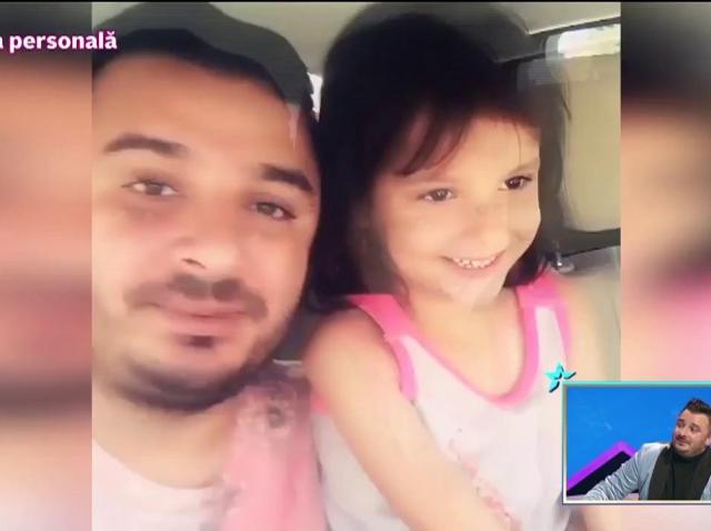 """Imagini din arhiva personală. Fetița lui Liviu Guță îi cere tatălui silicoane! """"Ai văzut la mama? Că eu nu știam că are!"""""""