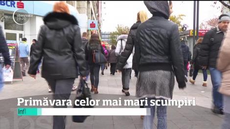 Primavara celor mai mari scumpiri! Inflația estimată de Banca Națională a României pentru acest an este de 5,4 procente