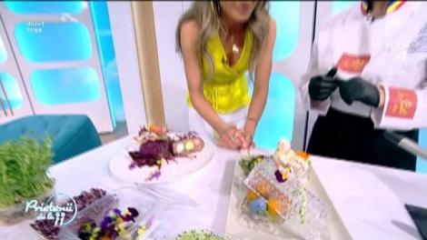 Reţeta zilei! Sorina Dunac gătește drob de miel cu ouă de prepeliță