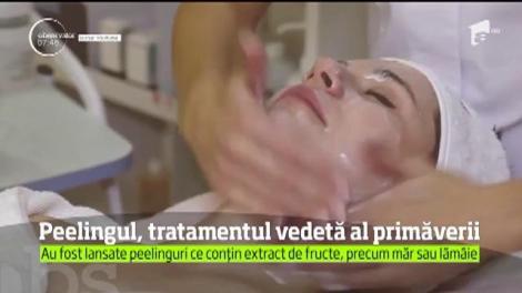 Peelingul, tratamentul vedetă al primăverii