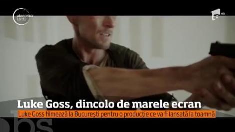 Actorul britanic Luke Goss, celebru pentru rolurile sale de dur, filmează în Bucureşti