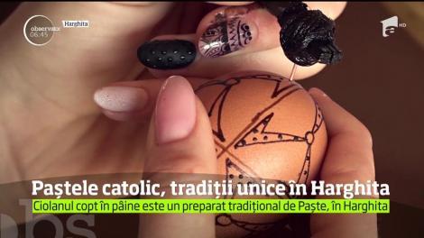 Credincioşii din Harghita s-au pregatit de Paştele Catolic
