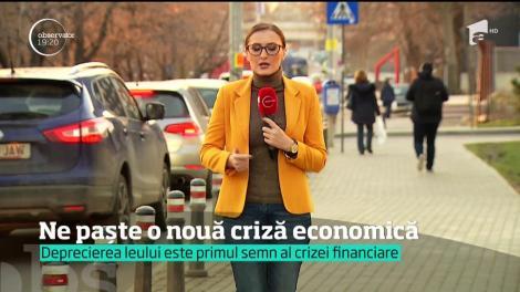 """""""Suntem în mijlocul crizei economice!"""" afirmă la unison analiştii financiari"""