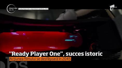 """Cel mai recent film al lui Steven Spielberg, """"Ready Player One"""", a avut încasări de 128 de milioane de dolari"""