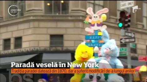 New-yorkezii au defilat la tradiţionala paradă de Paşte