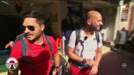 """Start ratat pentru Liviu şi Andrei în marea finală! O greșeală i-a costat scump pe cei doi concurenți de la """"Asia Express"""""""