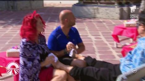 Masajul nu e treabă pentru oricine! Ana și Raluka, cu un pas înaintea băieților! Cine câștigă finala?