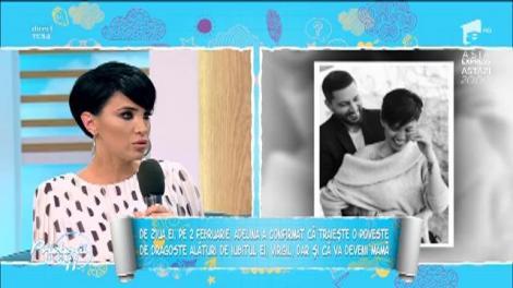 """Adelina Pestrițu a fost cerută în căsătorie: """"O să facem nunta după botezul fetiței"""""""