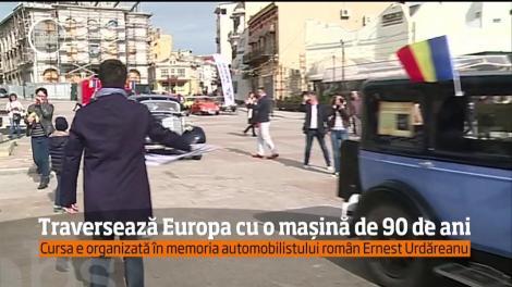 Traversează Europa cu o maşină de 90 de ani!
