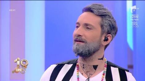 """Grizonat și tatuat din cap până-n picioare, Dani este de nerecunoscut. Gianluca Vacchi, în platoul matinalilor: """" - Îți plac blondele, brunele? - În România se zice """"una pațachina""""!"""