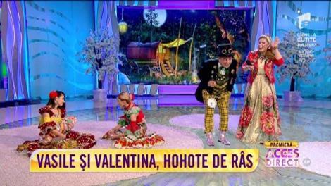 """""""Șatra"""", sceneta pe care Vasile Muraru și Valentina Fătu o joacă în noul lor show """"E spectacol în oraș"""""""