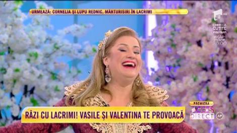 """""""Sabia Nordului"""", sceneta pe care Vasile Muraru și Valentina Fătu o joacă în noul lor show """"E spectacol în oraș"""""""