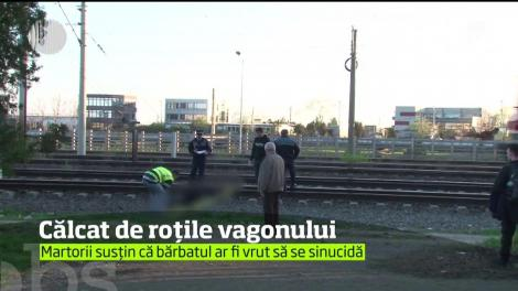 Tragedie în zona Gării de Vest din Ploieşti. Un bărbat, în vârstă de 55 de ani, a fost călcat de vagonul unui tren de marfă