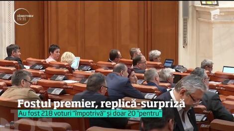 """Fostul premier, replică-supriză. Mihai Tudose le-a spus deputaţilor UDMR că este """"jenant"""" ceea ce fac"""