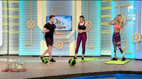 Fitness la Neatza! Cum să slăbești eficient: antrenament aerob