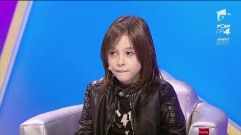 La vârsta de 3 ani, Medeea Marinescu a jucat în primul film