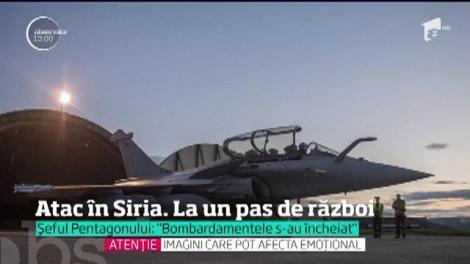 Suntem la un pas de război! Statele Unite, Marea Britanie şi Franţa au atacat Siria