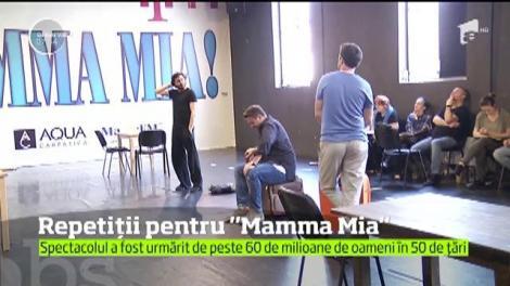 """Repetiții pentru """"Mamma Mia!"""". Spectacolele sunt programate să înceapă din 25 mai"""