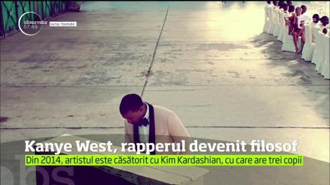 Rapperul Kanye West scrie o carte de filosofie. Artistul s-a comparat cu savantul britanic Stephen Hawking!