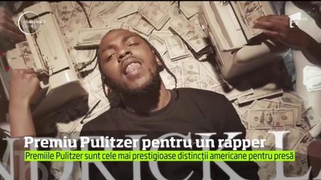Premiu Pulitzer pentru un rapper