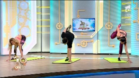 Fitness la Neatza! Exerciții de încălzire și stretching
