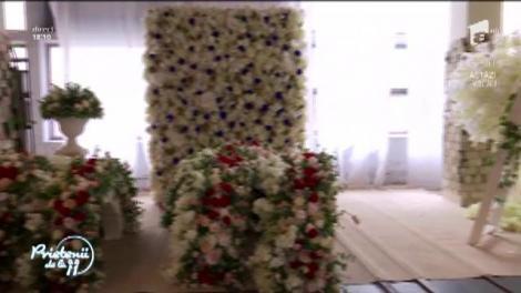 Florile de hârtie și material textil, cel mai frumos decor pentru nunțile pretențioase