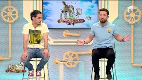 """Răzvan, despre stilul vestimentar al colegului Dani: """"Pentru o plimbare la azil, la ora 12, e în regulă"""""""