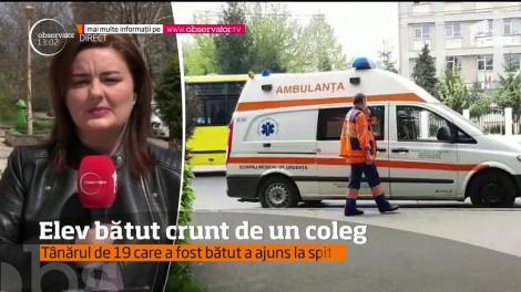 Bătaie cruntă între doi elevi de liceu din Ploieşti